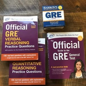 Other - GRE Prep Bundle
